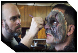 Phil Applies Boggy Creek Creature Makeup